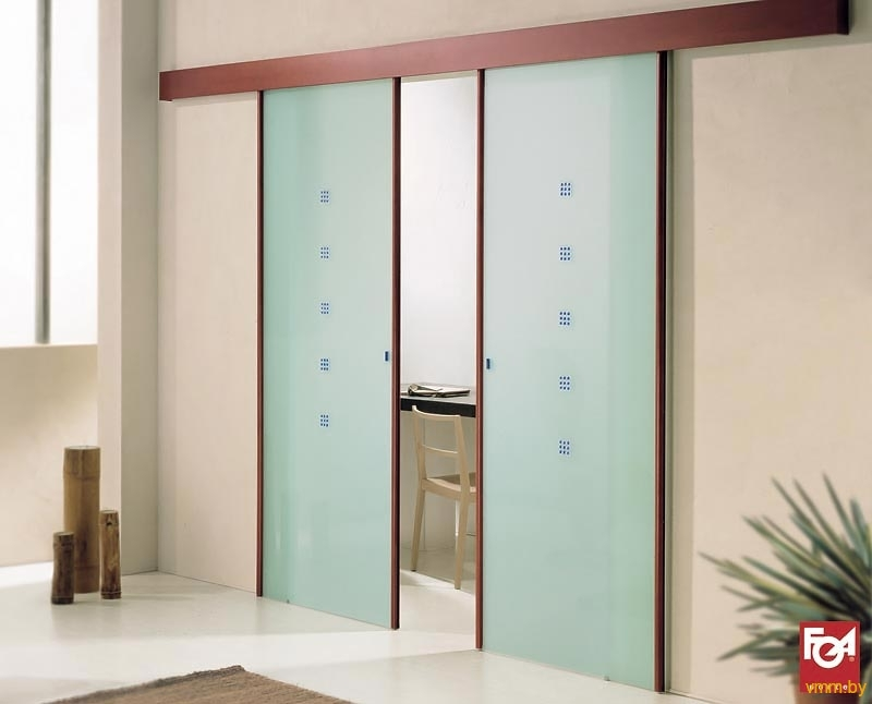 Как сделать дверь в комнату раздвижную