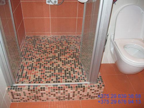 душ в частном доме своими руками